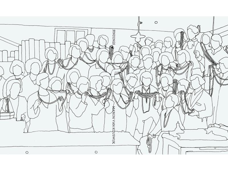 Cover of the book Findings, by Manon van Kouswijk, 2015, 30 x 24.5 x 1.7 cm, photo: artist