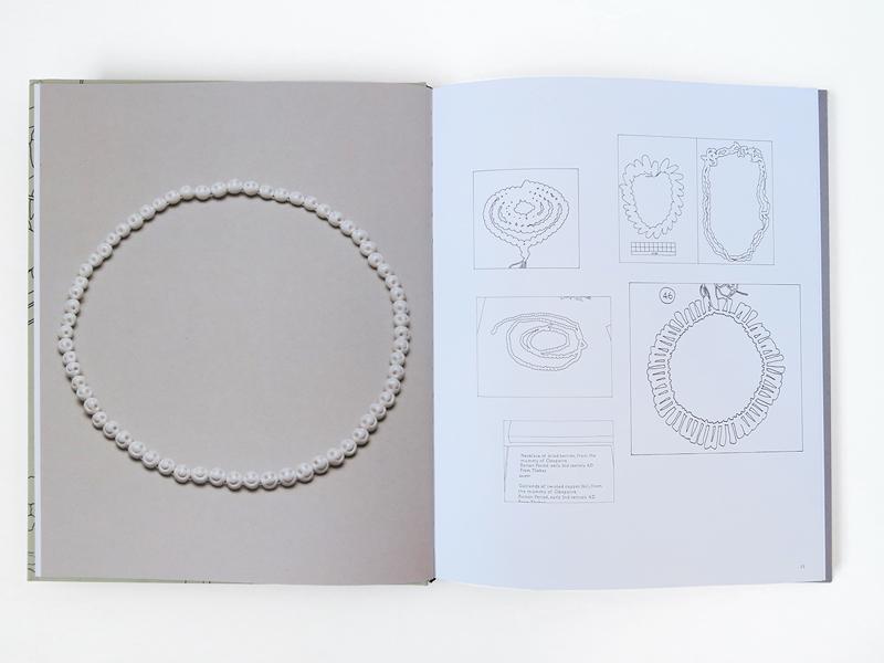 Interior spread of the book Findings, by Manon van Kouswijk, 2015, 30 x 24.5 x 1.7 cm, photo: artist