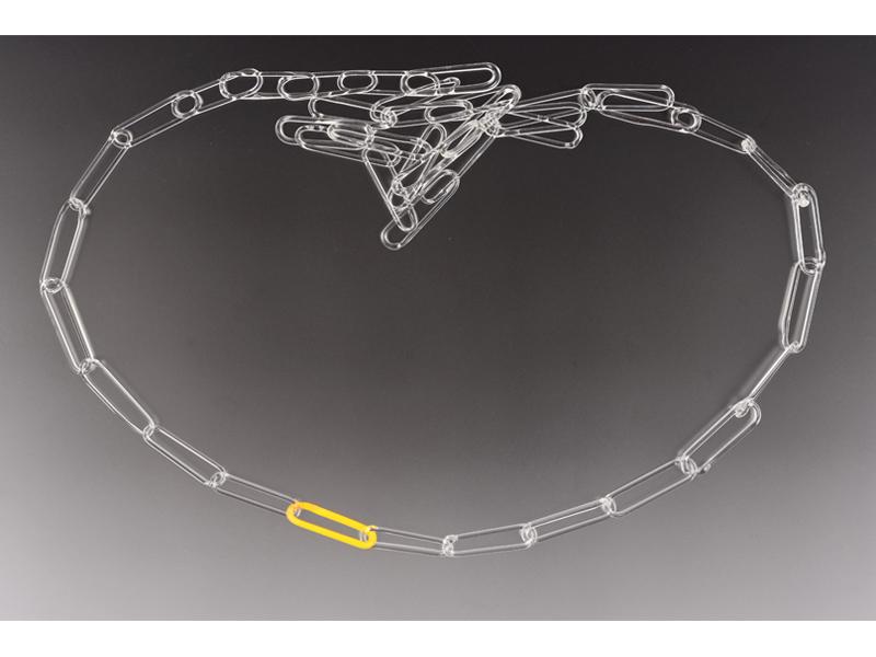 Flora Sekanova, Yellow Necklace