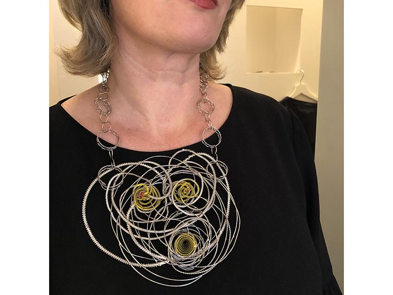 Robert Baines, 2019, necklace