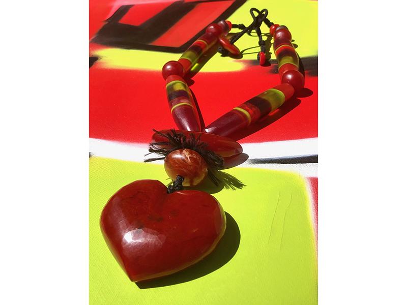 Cara Croninger, Heart Necklace