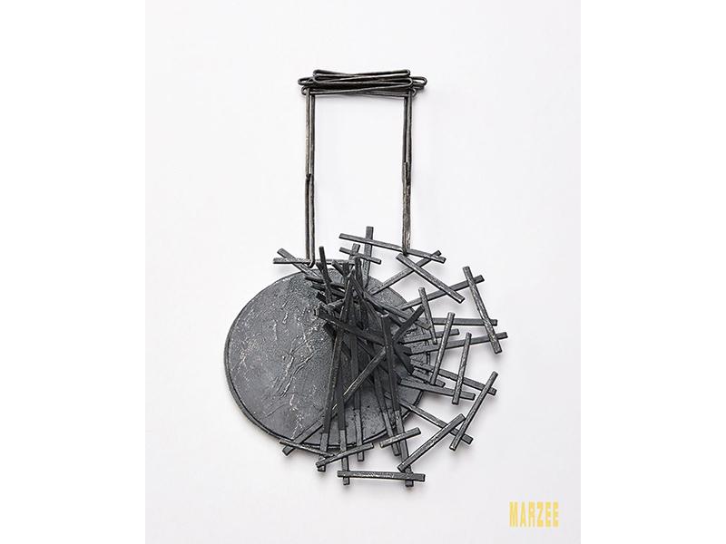 Iris Bodemer, Gegenüberstellung 5 (Juxtaposition 5), 2019