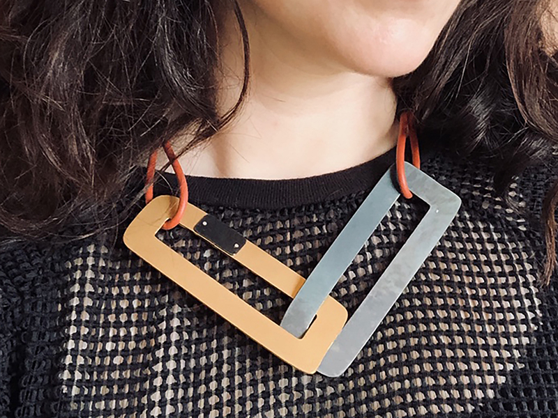 Maia Leppo, Rectangles on Steel, 2019