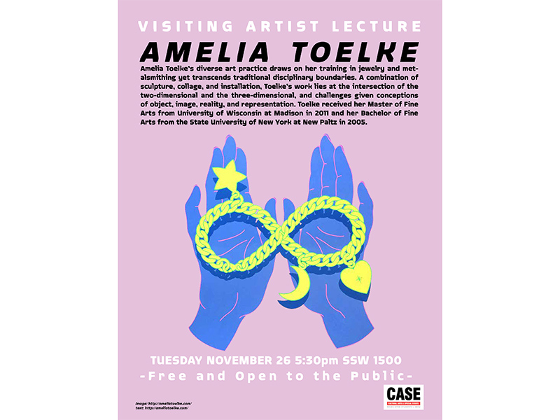 Amelia Toelke will give a talk at San Diego State University
