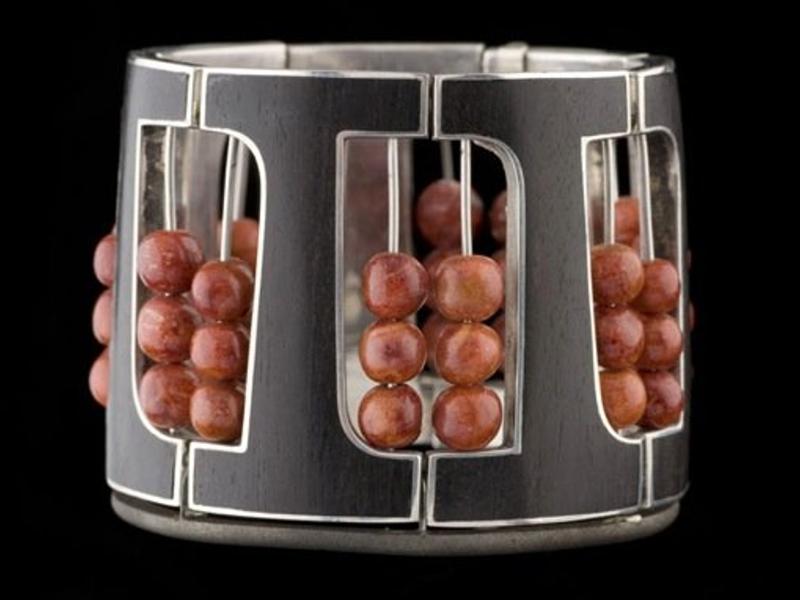 Bill Reid, Hinged Abacus Bracelet, 1960