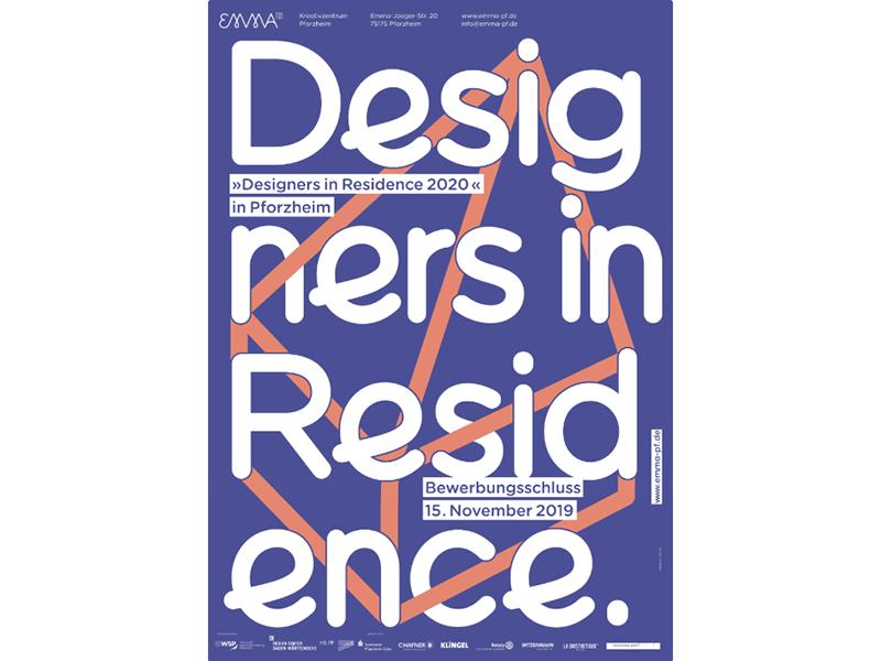 The scholarship program Designers in Residence