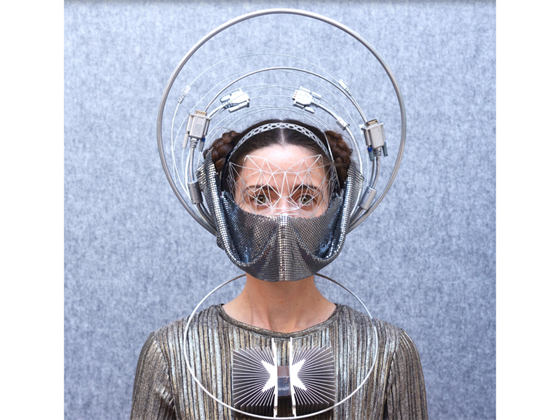 Freyja Sewell's mask