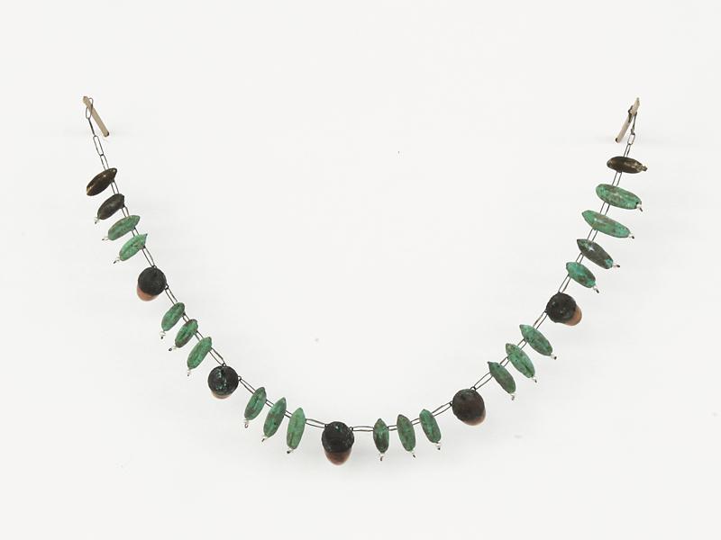 Bernhard Schobinger, Bernstein Bronze Necklace