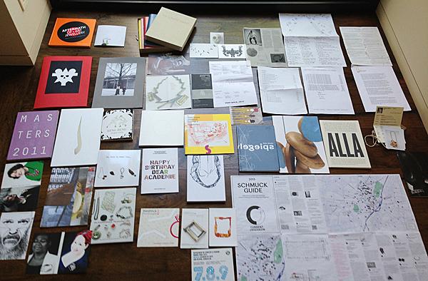 Collected printed matter, Schmuck, 2013