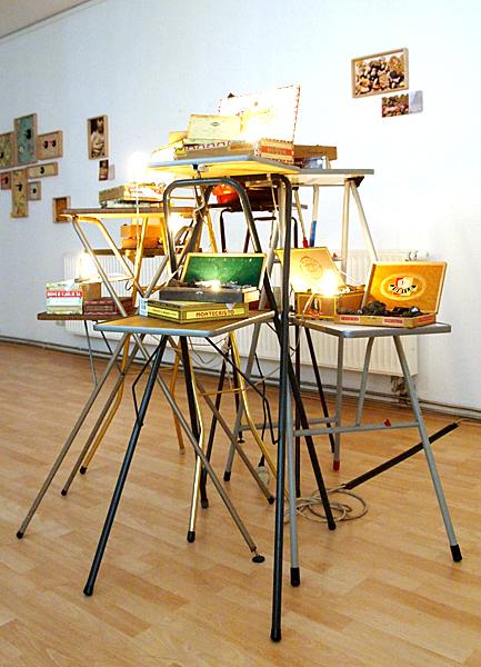 Peter Vermandere, Pseudomorphic Projections, etc…, 2013, Atelier von Gierke-Berr