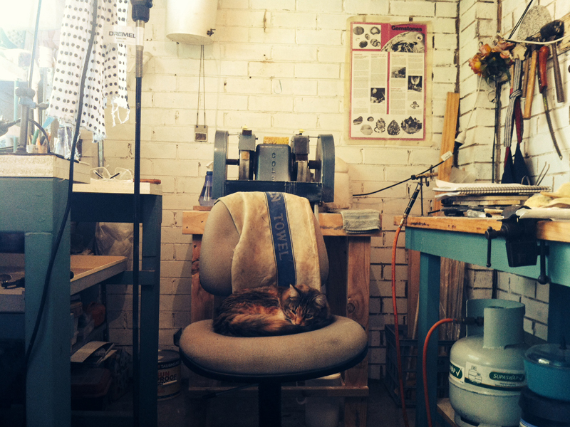 Katie Jayne Britchford's studio, photo: artist