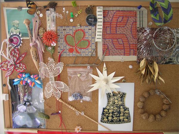 Vicki Mason's studio, photo: artist