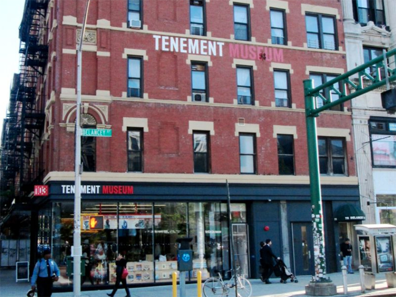 The Tenement Museum in New York, which launched an appeal at its website appealing to donors to help it survive