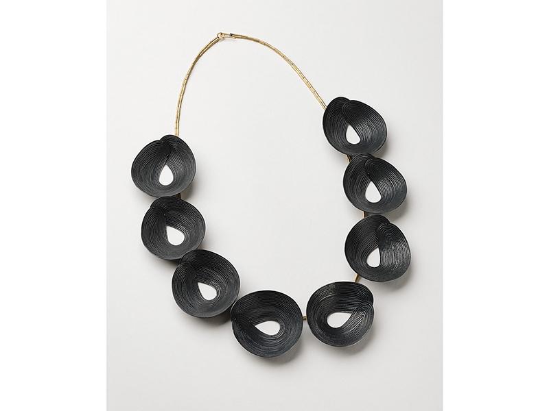 Julie Blyfield, Black Pea Necklace