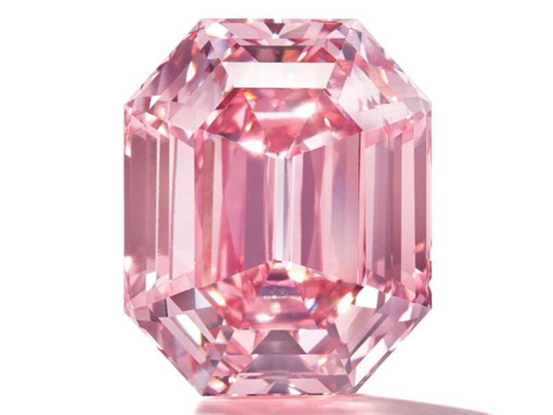 """Pink Legacy"", a 19-carat pink diamond"