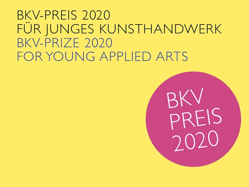 Open Call for the BKV Prize 2020 for young applied arts