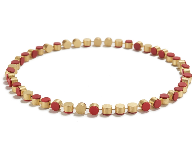 Batho Gündra, Golden Coral Necklace