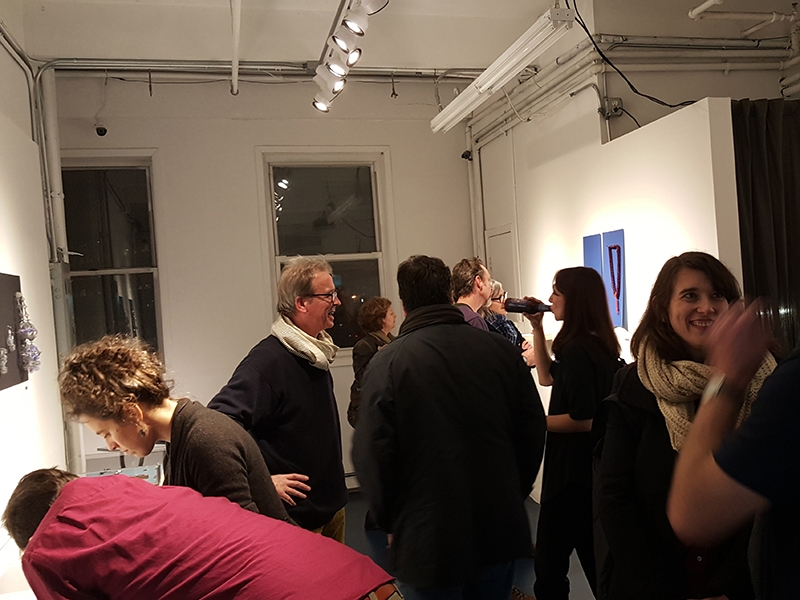 """Opening for Brooklyn Metal Works annual """"Makers"""" membership show"""