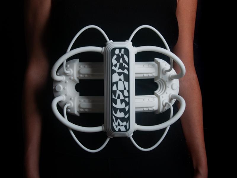 Belt buckle by Lauren Eckert
