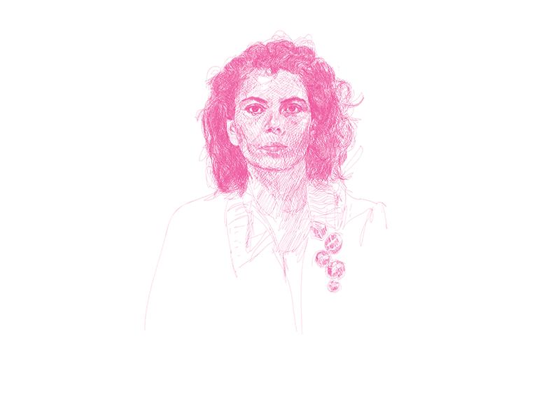 Azbe Rowa-Ricardo di Parodi, portrait of Claudia Betancourt