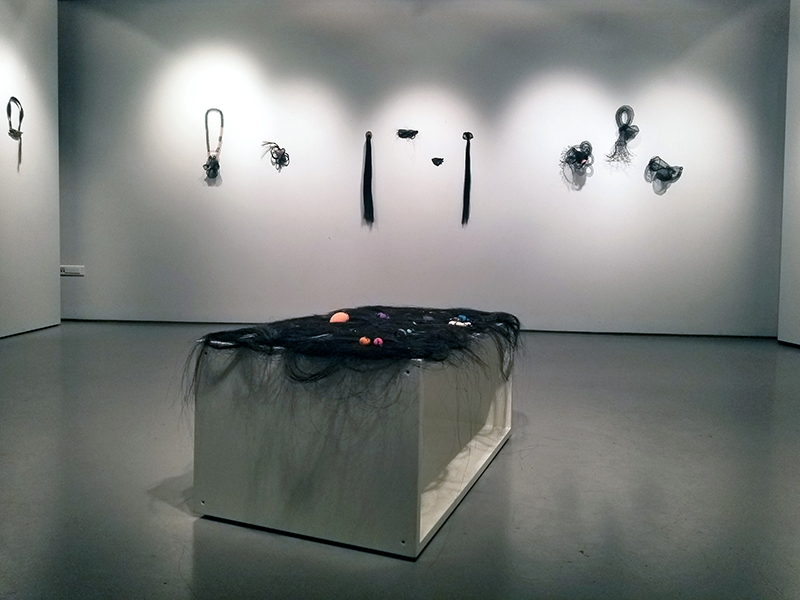 Installation view of What Lies Beneath exhibition