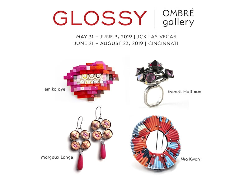Glossy exhibition at Ombre Gallery