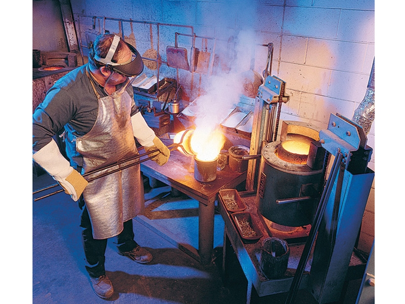 Smelting is the baseline for all products at Hoover & Strong