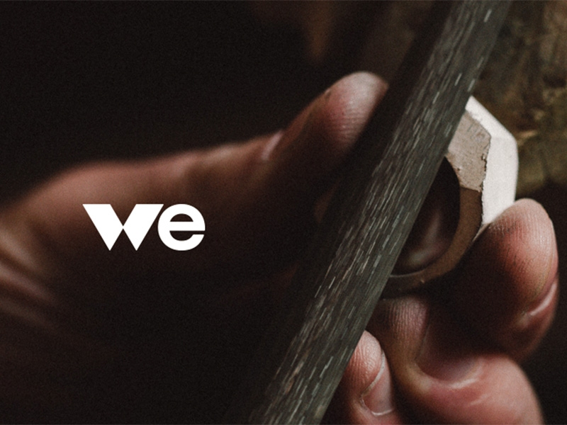 WE Movement logo, courtesy of Walka Studio