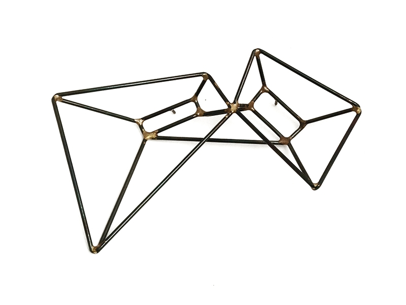 Sarah West, Double Trapezoid Brooch