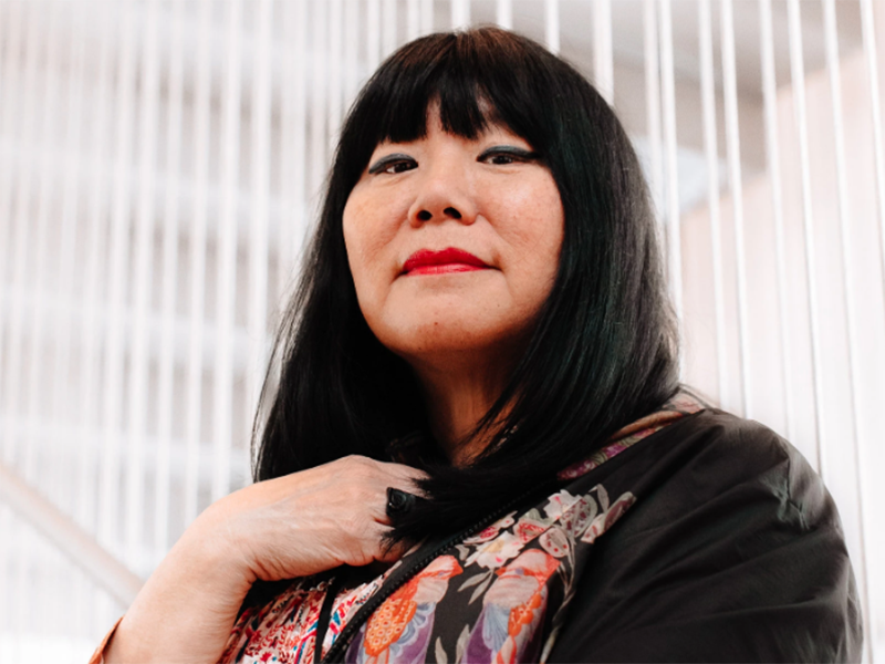 Anna Sui at the Museum of Arts and Design