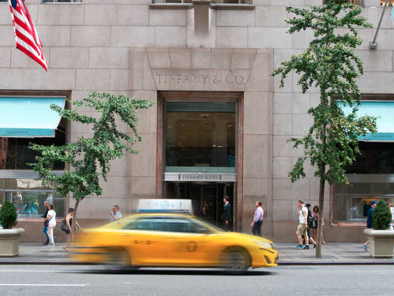 Tiffany & Co. Fifth Avenue Store, photo: Shutterstock