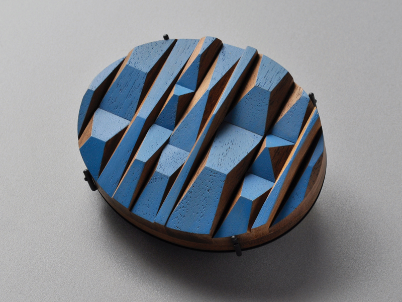 Julia Turner, Blue Peaks Brooch