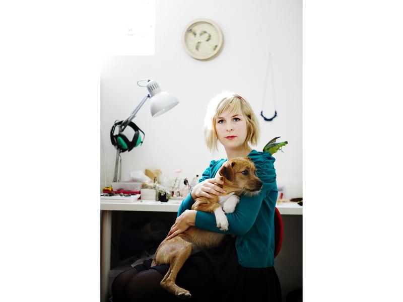 Marta Mattsson's studio, photo: artist